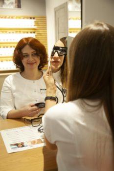 подобрать очки для зрения