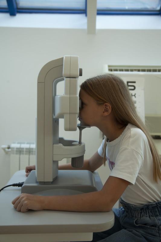 прием офтальмолога для ребенка